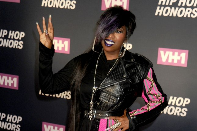 Missy Elliott confirmed plans for a new album while discussing her journey to fame in the August issue of Marie Claire. File Photo by Dennis Van Tine/UPI