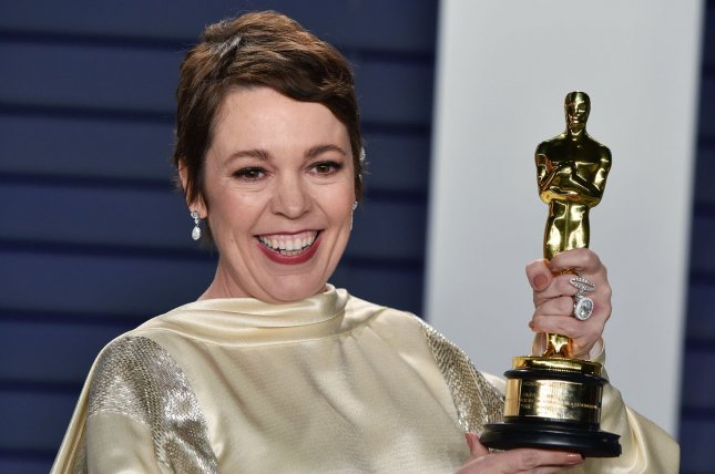 Olivia Colman has signed on to star in a new HBO crime series, Landscapers. File Photo by Christine Chew/UPI