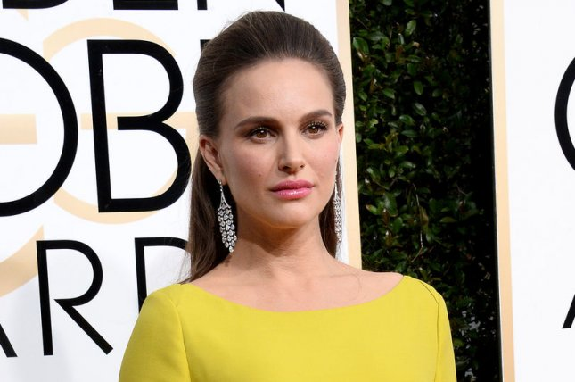 Natalie Portman at the Golden Globe Awards on Sunday. File Photo by Jim Ruymen/UPI