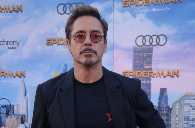Cast member Robert Downey Jr. attends the premiere of Spider-Man: Homecoming in Los Angeles on June 28. Photo by Jim Ruymen/UPI