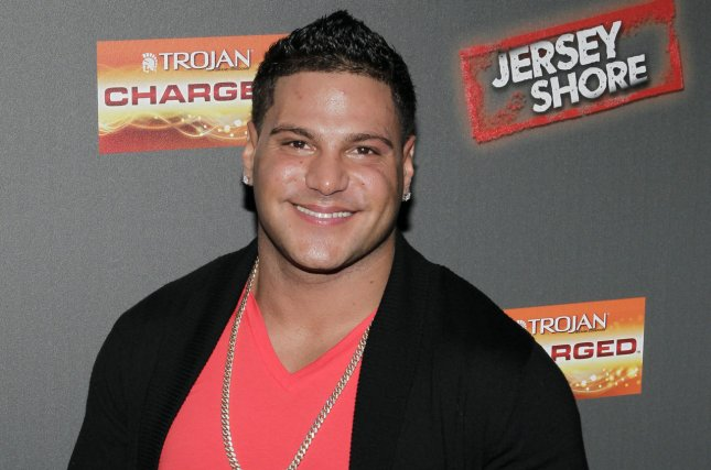 Jersey Shore star Ronnie Ortiz-Magro was arrested after an alleged domestic violence dispute in Los Angeles. File Photo by John Angelillo/UPI