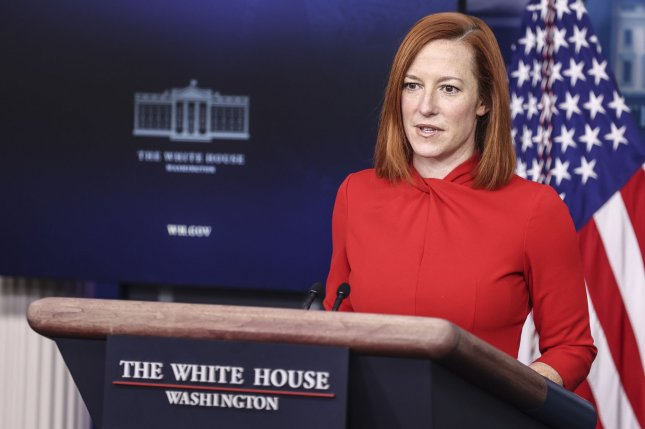 White House press secretary Jen Psaki said Sunday that the White House plans to rapidly catch up and complete delivery of 6 million doses delayed by the winter storm that affected much of the nation this week.Photo by Oliver Contreras/UPI