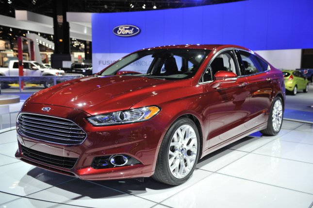 A 2013 Ford Fusion is shown during the Chicago Auto Show at McCormick Place on February 9, 2012 in Chicago. UPI/Brian Kersey