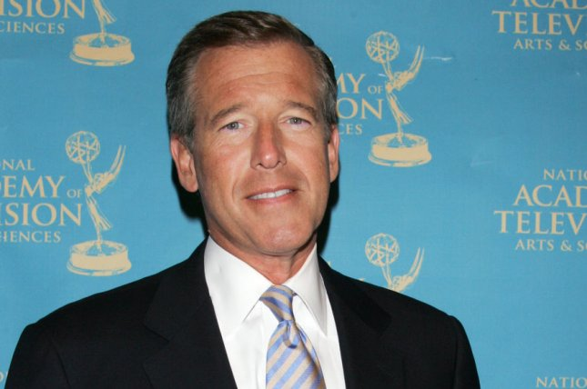 NBC news anchor Brian Williams says watching his daughter Allison Williams act is a family occupation. File Photo by Laura Cavanaugh/UPI