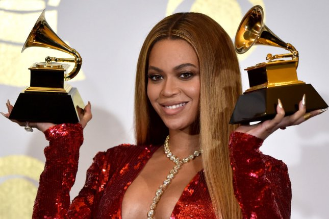 Beyoncé attends the Grammy Awards on February 12. Social media erupted over the singer's Madame Tussauds wax figure this week. File Photo by Christine Chew/UPI