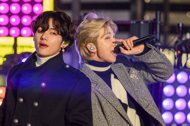 A German radio host is facing a storm of criticism after suggesting BTS be exiled to North Korea after the boy band performed on MTV Unplugged. File Photo by Corey Sipkin/UPI