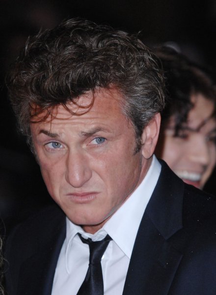 American actor/ director Sean Penn attends a screening of Into The Wild at London Film Festival at Odeon West End in London on October 25, 2007. (UPI Photo/Rune Hellestad)