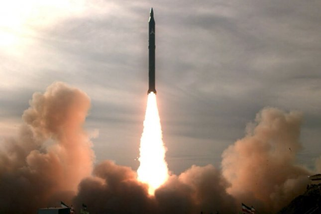 Iran tests the Sajjil-2 missile with a range of 1,200 miles at an undisclosed location on December 16, 2009. The missile has a range to reach Israel and parts of southeastern Europe. UPI