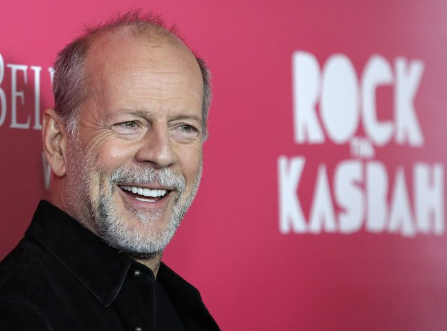 bruce willis at the new york premiere of rock the kasbah on october 19 the actor stars in the 1988 movie die hard and its sequels - Bruce Willis Christmas Movie