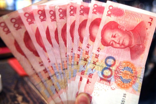 North Korea is circulating fake Chinese renminbi bills abroad, and Kim Jong Un has endorsed the illicit project, according to activists in Seoul. Photo by Stephen Shaver/UPI