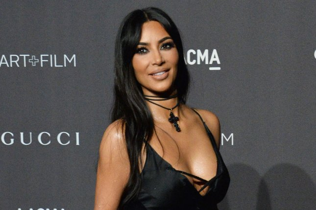 Kim Kardashian confirmed she's expecting another son with Kanye West. File Photo by Jim Ruymen/UPI