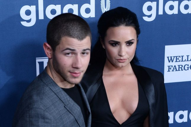 Recording artist Nick Jonas (L) and Demi Lovato will perform at this year's Billboard Music Awards in Las Vegas. File Photo by Jim Ruymen/UPI