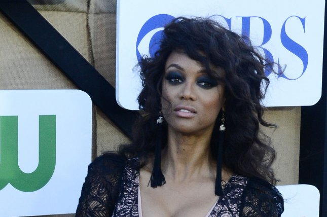Model Tyra Banks attends the CBS and Showtime summer TCA party in Beverly Hills on July 29, 2013. Banks is the new host of NBC's America's Got Talent. File Photo by Jim Ruymen/UPI