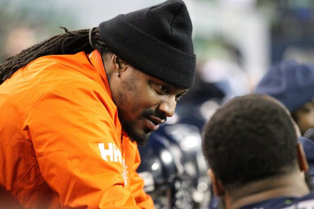 Former Seattle Seahawks running back Marshawn Lynch said he was retiring on Feb. 8, 2016, but has been rumored for a return ever since. File Photo by Jim Bryant/UPI
