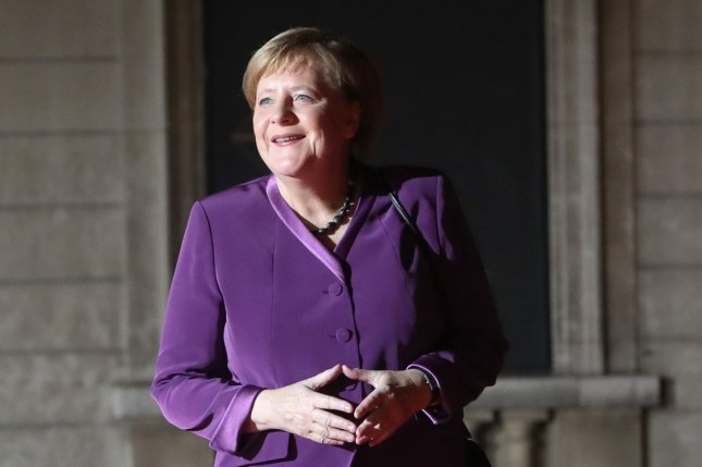 German Chancellor Angela Merkel was affected by a data leak, which also included information of other German politicians. File Photo by Eco Clement/UPI
