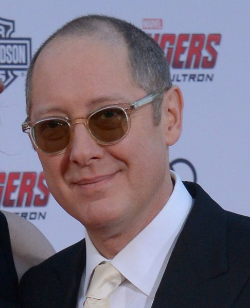 James Spader arrives for the premiere of Avengers: Age of Ultron at the Dolby Theatre in the Hollywood section of Los Angeles on April 13, 2015. The actor turns 60 on February 7. File Photo by Jim Ruymen/UPI