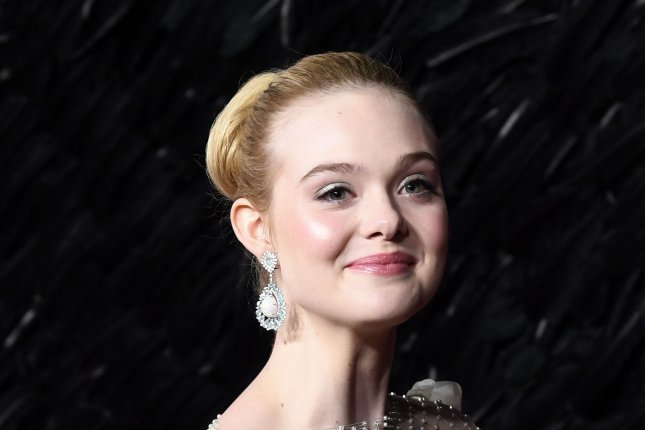 Hulu has released a first look at Elle Fanning in Season 2 of The Great. File Photo by Rune Hellestad/UPI