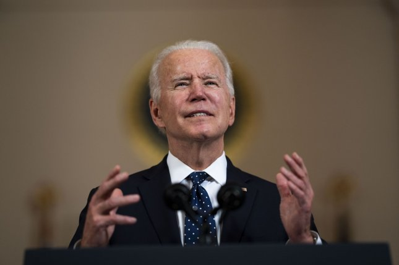 President Joe Biden will hold a drive-in rally in the Atlanta area on Thursday. Pool photo by Doug Mills/UPI