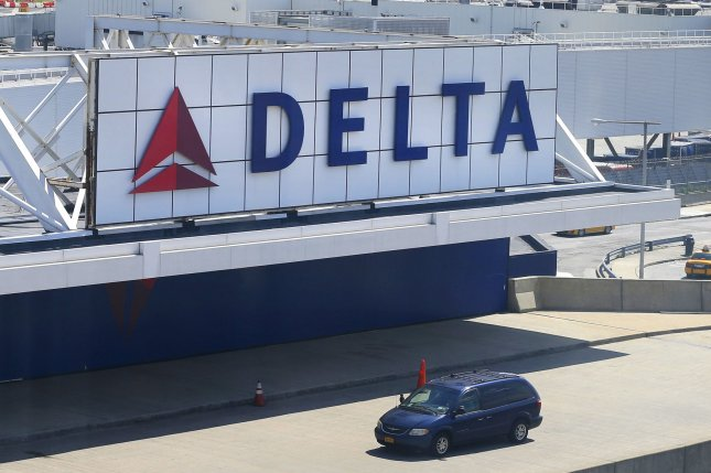 Delta Air Lineswas one of a number of companies affected by the Internet outage on Thursday. File Photo by John Angelillo/UPI