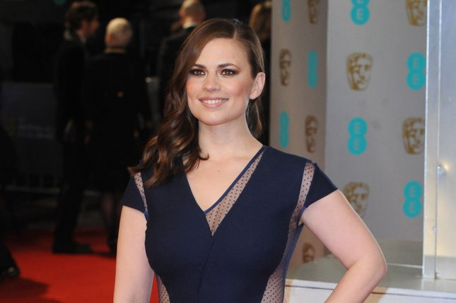 English actress Hayley Atwell is to star in the BBC adaptation of Andrea Levy's novel, The Long Song. File Photo by Paul Treadway/UPI