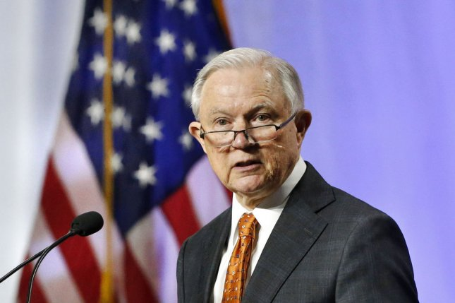 Attorney General Jeff Sessions ordered immigration judges to no longer grant asylum to victims of domestic abuse and gang violence in June. Now, 18 states and the District of Columbia are supporting plaintiff's suit against the policy. File Photo by AJ Sisco/UPI