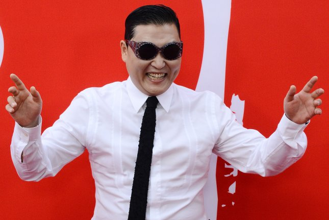 Psy thanked fans on Twitter after his Daddy music video featuring CL reached 400 million views on YouTube. File Photo by Jim Ruymen/UPI