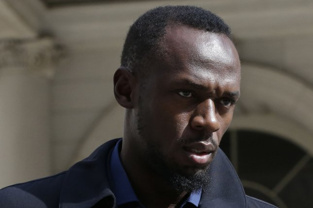 Former Olympic sprinter Usain Bolt helped World XI to a comeback victory against England XI at Soccer Aid 2019 on Sunday at Stamford Bridge in Chelsea, England. File Photo by John Angelillo/UPI