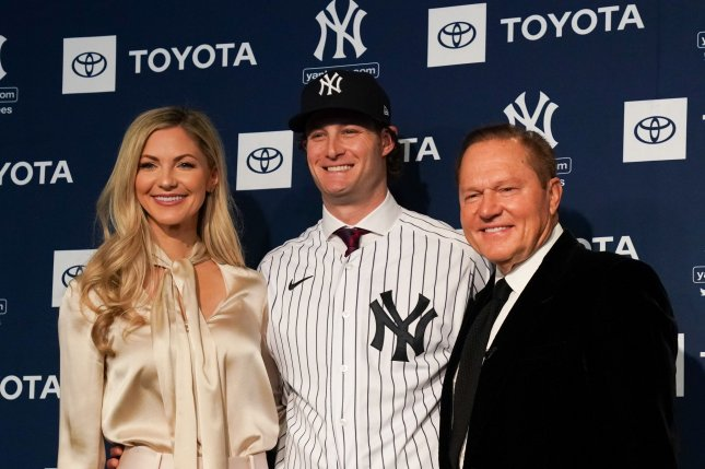 Baseball superagent Scott Boras (R) will grant an internship to Alexis Altobelli, who lost her father, John Altobelli, in last month's helicopter crash that also killed Los Angeles Lakers legend Kobe Bryant. File Photo by Bryan Smith/UPI
