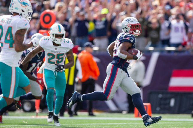 Miami Dolphins cornerback Xavien Howard (25) will not receive a suspension from the NFL after he was arrested in December. File Photo by Matthew Healey/UPI