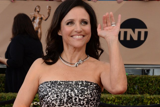 Actress Julia Louis-Dreyfus attends the 22nd annual Screen Actors Guild Awards in Los Angeles on January 30, 2016. Photo by Jim Ruymen/UPI
