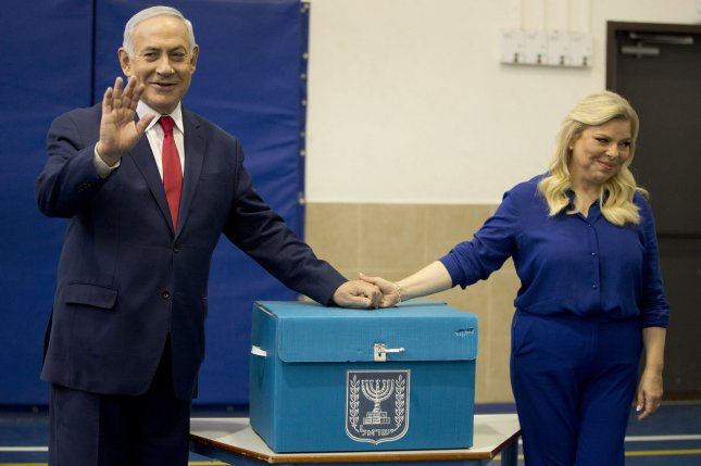 Projected results of Israel election