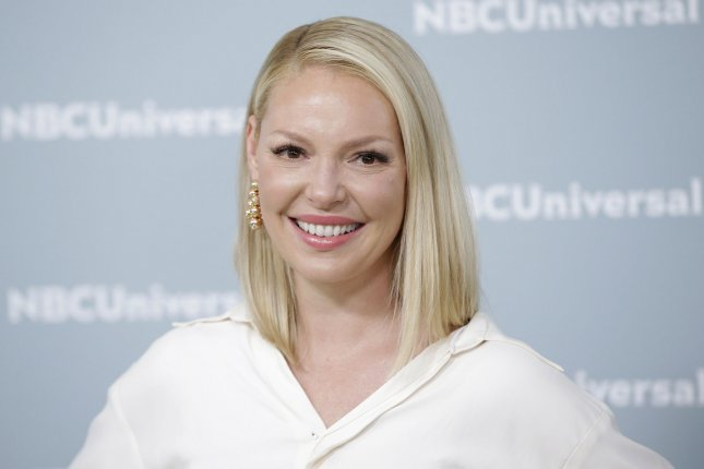 Katherine Heigl arrives on the red carpet at the 2018 NBCUniversal Upfront at Radio City Music Hall on May 14 in New York City. The actor turns 40 on November 24. File Photo by John Angelillo/UPI