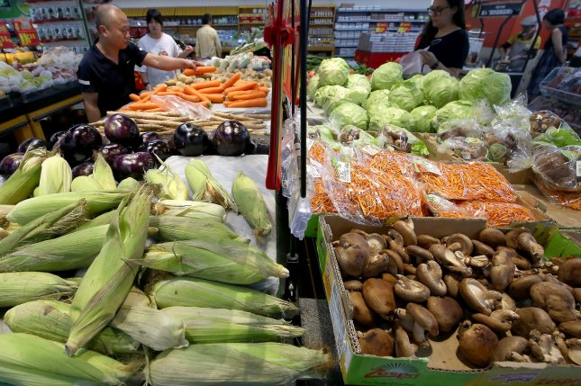 Vegetables offer a lot of health benefits, but may not slow prostate cancer progression. File photo by Stephen Shaver/UPI
