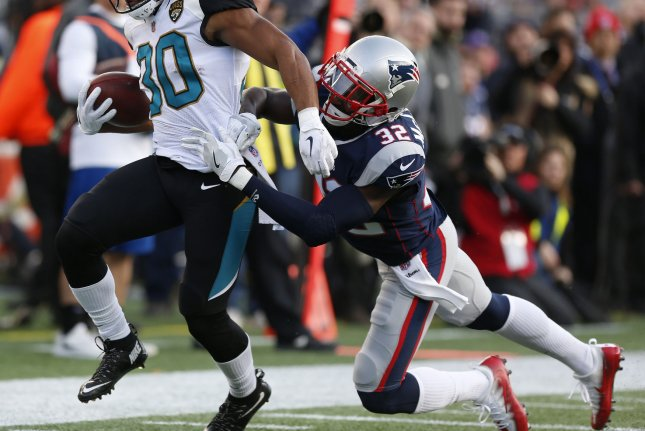 New England Patriots defensive back Devin McCourty (R), who has spent his entire 11-year career with the Patriots, revealed the news on social media over the weekend. File Photo by Matthew Healey/UPI