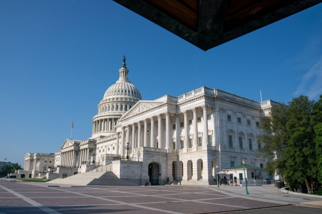 The U.S. Capitol is seen in Washington, D.C., on August 24. The Senate returned to Capitol Hill on Monday and the House is scheduled to return September 20. Photo by Ken Cedeno/UPI