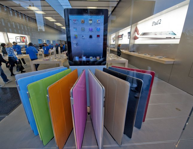 While Apple is still selling millions of the iPad 2 tablet, speculation is already swirling about an iPad 3, tech industry observers say. UPI/Brian Kersey