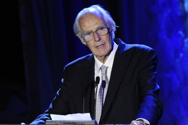 The Beatles music producer Sir George Martin has died at age 90. Martin is seen here accepting the Trustees Award from at the Grammy Foundation's Starry Night gala in Los Angeles on July 12, 2008. File Photo by Jim Ruymen/UPI