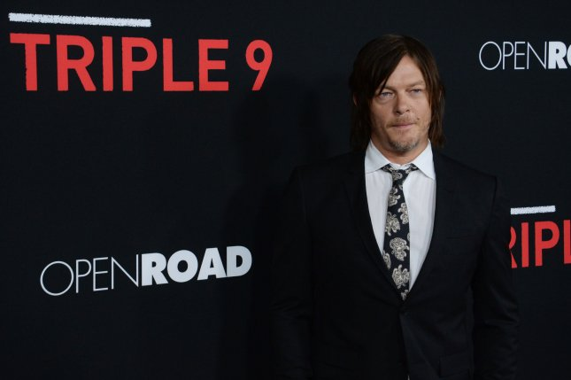 Ride and The Walking Dead star Norman Reedus attends the premiere of the motion picture crime thriller Triple 9 at Regal L.A. Live in Los Angeles on February 16, 2016. File Photo by Jim Ruymen/UPI