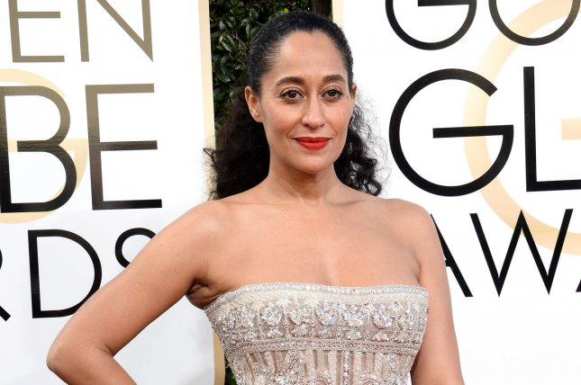 Tracee Ellis Ross attends the 74th annual Golden Globe Awards at the Beverly Hilton Hotel in Beverly Hills, California on January 08, 2017. She is the winner of Best Actress in a Musical or Comedy TV Series for Black-ish. Photo by Jim Ruymen/UPI