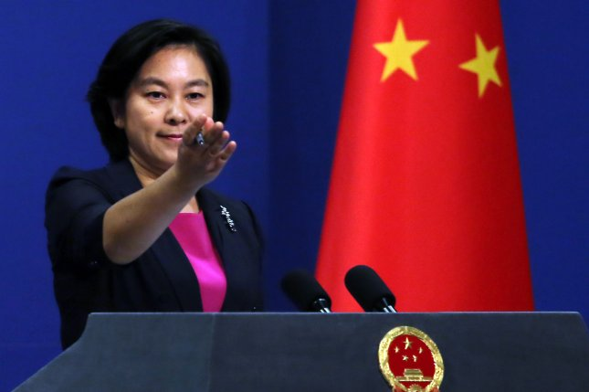 Chinese foreign ministry spokeswoman Hua Chunying said Tuesday ties with South Korea should be normalized, following months of dispute over the deployment of a U.S. missile defense system on the peninsula. Photo by Stephen Shaver/UPI
