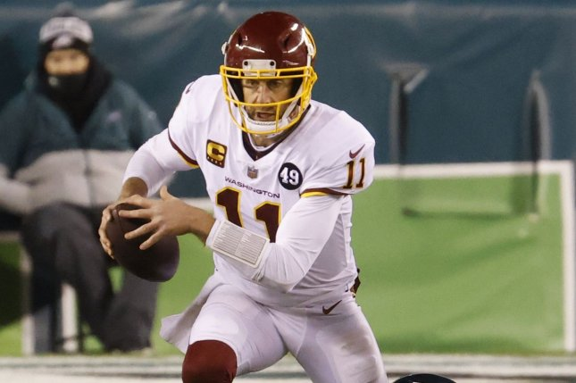 Washington Football Team quarterback Alex Smith, who returned for a long injury absence last season, said the NFC East franchise didn't want him on the roster in 2020. File Photo by John Angelillo/UPI
