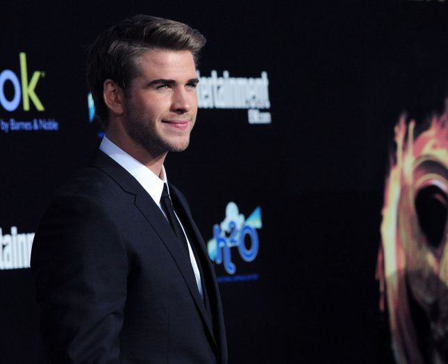Actor Liam Hemsworth, a cast member in the motion picture sci-fi thriller The Hunger Games, attends the premiere of the film at Nokia Theatre in Los Angeles on March 12, 2012. UPI/Jim Ruymen