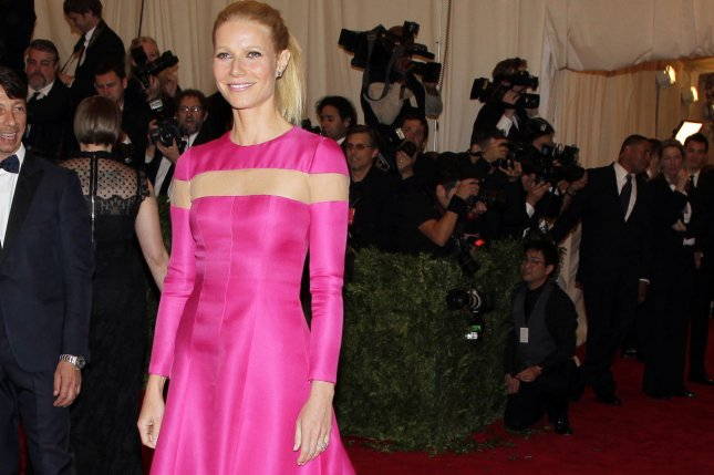 Gwyneth Paltrow arrives on the red carpet at the Costume Institute Benefit for the PUNK: Chaos to Couture exhibition at the Metropolitan Museum of Art in New York City on May 6, 2013. UPI/John Angelillo