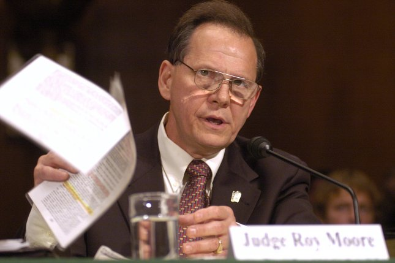 Alabama Supreme Court Chief Justice Roy Moore. UPI /Greg Whitesell