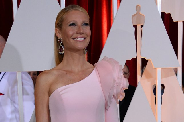 Actress Gwyneth Paltrow has revealed what she told her son and daughter about her and their dad Chris Martin's conscious uncoupling. Photo by Jim Ruymen/UPI