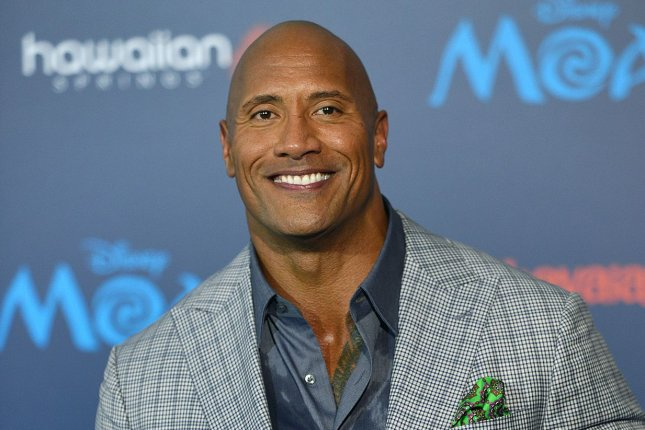 Dwayne Johnson arrives at the world premiere of Moana on November 14. Johnson is set to star as DC Comics villian Black Adam in an upcoming solo film. File Photo by Christine Chew/UPI