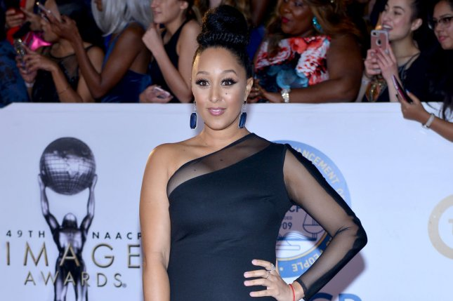 Tamera Mowry paid tribute to Alaina Housley, her niece who died in the Thousand Oaks shooting, on her son's 6th birthday. File Photo by Christine Chew/UPI