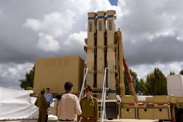 The United States and Israel announced a successful testing of Israel's David's Sling missile defense system on Tuesday. File Photo by Debbie Hill/UPI