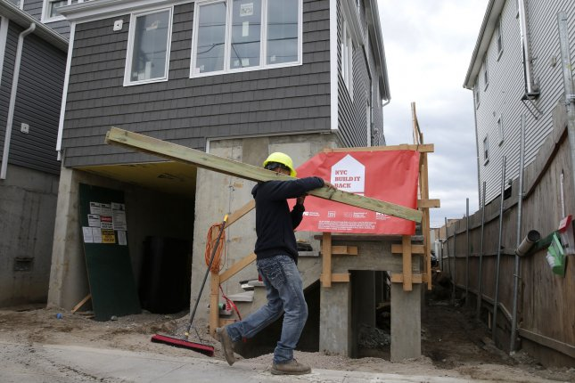 The Commerce Department said in Monday's report about 681,000 new homes were sold in the United States in 2019. File Photo by John Angelillo/UPI