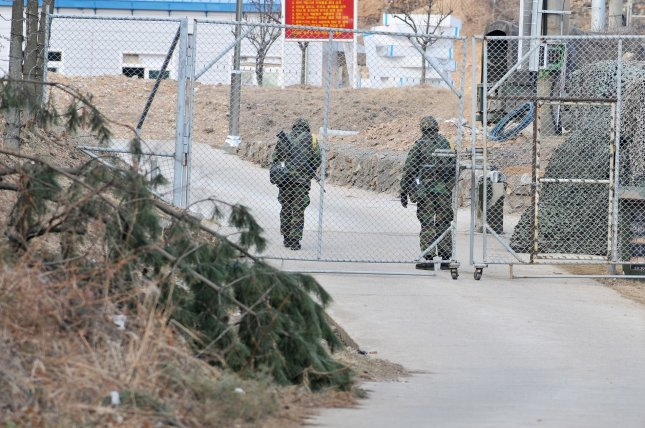A South Korean man who attempted to escape to North Korea from a coastal island off the western coast of the peninsula is under arrest. File Photo by Keizo Mori/UPI